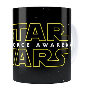 Caneca Star Wars The Force Awakens Branca
