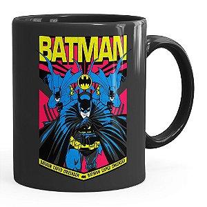 Caneca Batman Resgate Preta
