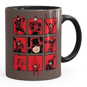 Caneca Demolidor (Daredevil) v03 Preta