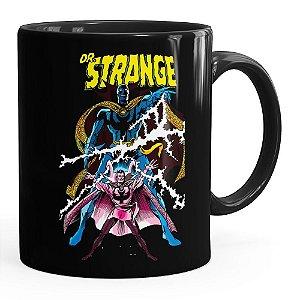 Caneca Doutor Estranho (Doctor Strange) v03 Preta