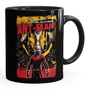 Caneca Homem-Formiga (Ant-Man) v02 Preta
