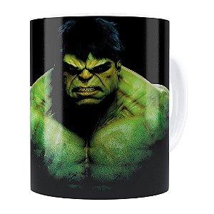 Caneca Hulk v01 Porcelana Branca