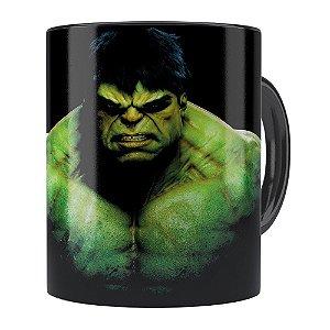 Caneca Hulk v01 Porcelana Preta