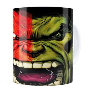 Caneca Hulk v03 Branca