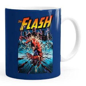 Caneca The Flash Quadrinhos HQ v01 Branca