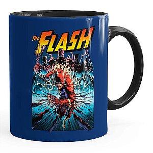 Caneca The Flash Quadrinhos HQ v01 Preta
