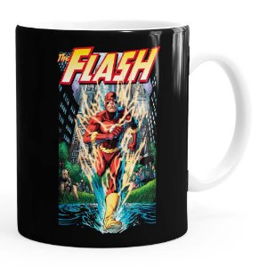 Caneca The Flash Quadrinhos HQ v02 Branca