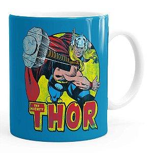 Caneca Thor em Ação Branca
