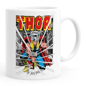 Caneca Thor The Mighty v03 Branca