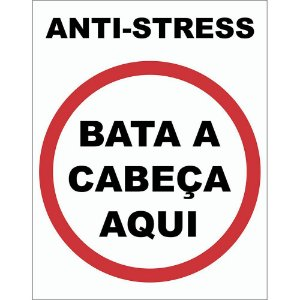 Placa Decorativa Anti Stress 038
