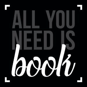 Placa Decorativa All You Need Is Book 306