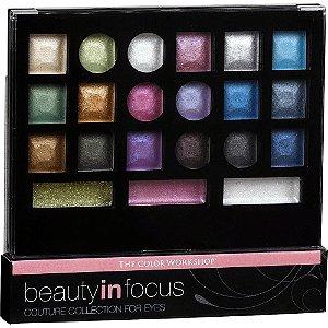 Paleta de Sombras Markwins Beauty in Focus 21 Cores