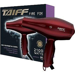 Secador de Cabelo Taiff Fire Fox 2100W 110V