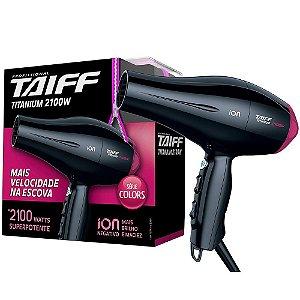 Secador Taiff Titanium Colors Rosa 2100W 110V