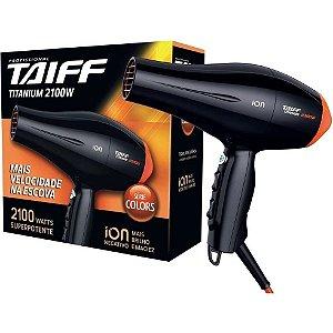 Secador Taiff Titanium Colors Laranja 2100W 110V