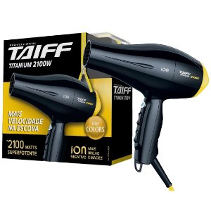 Secador Taiff Titanium Colors Amarelo 2100W 110V