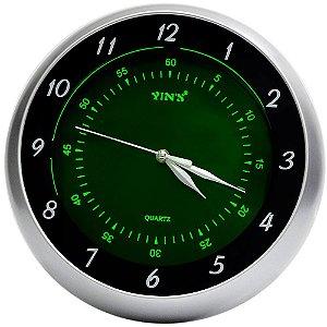 Relógio de Parede Yins YI15082 Fluorescente 30cm