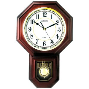 Relógio de Parede Herweg Clássico com Pêndulo 5305-999