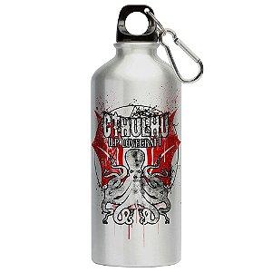 Squeeze Emblema de Cthulhu Lovecraft 500ml Aluminio