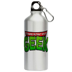 Squeeze Geek Tartarugas Ninja 500ml Aluminio