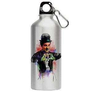 Squeeze Love Charlie Chaplin Coração 500ml Aluminio