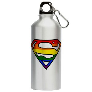 Squeeze Superman LGBTQ 500ml Aluminio