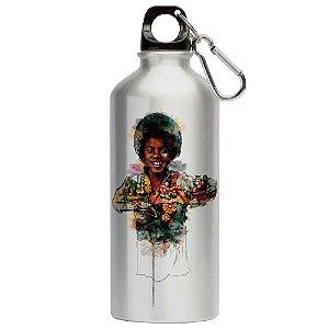 Squeeze Love Michael Jackson Coração 500ml Aluminio
