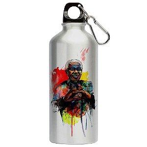 Squeeze Love Nelson Mandela Coração 500ml Aluminio