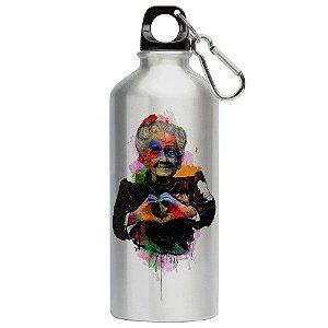Squeeze Love Rita Levi Montalcini Coração 500ml Aluminio
