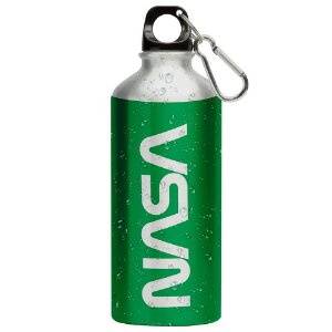 Squeeze Nasa Worm Verde 500ml Aluminio