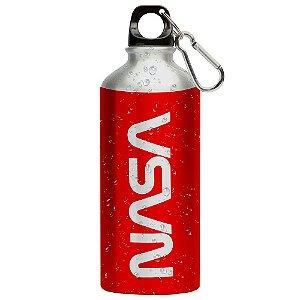 Squeeze Nasa Worm Vermelho 500ml Aluminio