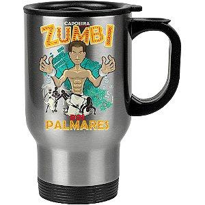 Caneca Térmica Capoeira Zumbi Dos Palmares 500ml Inox