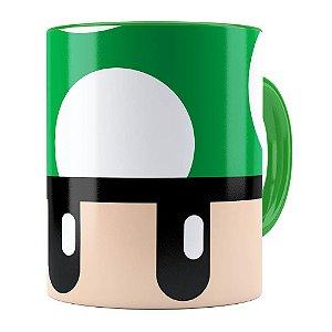 Caneca Toad Super Mario Bros Verde Verde