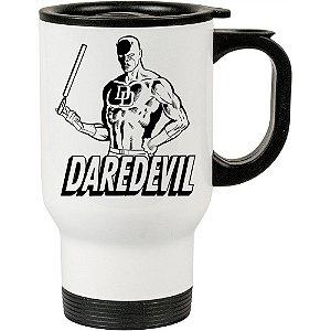 Caneca Térmica Demolidor (Daredevil) v01 500ml Branca