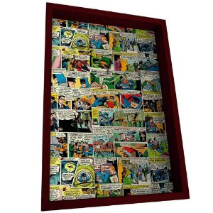 Porta Chaves DC Comics Quadrinhos em Madeira