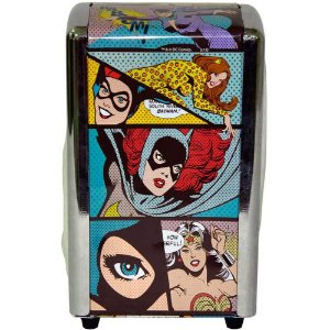 Porta Guardanapos Dc Comics Heroínas Pop Art Metal
