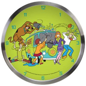 Relógio de Parede Scooby-Doo All Mistery Machine