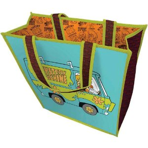 Sacola Scooby-Doo The Mistery Machine 40x40cm