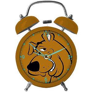 Relógio Despertador Scooby-Doo Face em Metal
