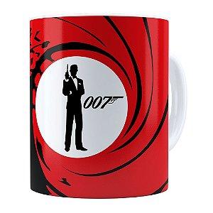 Caneca 007 James Bond v01 Branca