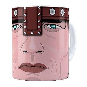 Caneca Conan Schwarzenegger Branca