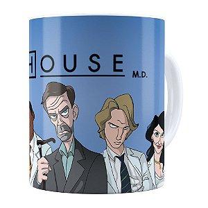 Caneca Dr.House v01 Branca
