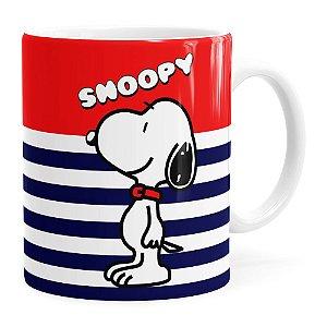 Caneca Peanuts Snoopy v01 Branca