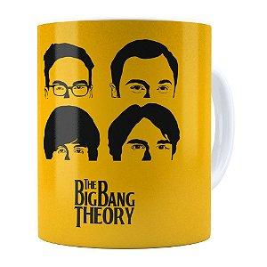 Caneca The Big Bang Theory v01 Branca