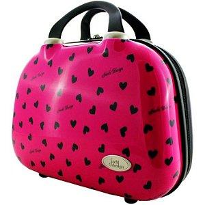 Frasqueira de Viagem Jacki Design Valentine JDH22788 Pink