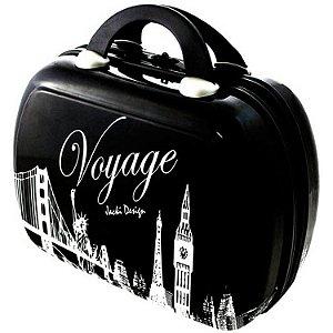 Frasqueira de Viagem Jacki Design Voyage JDH22572 Preta