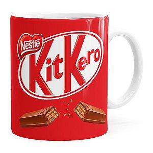 Caneca Chocolate KitKero Branca