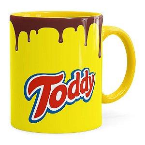 Caneca Toddy Porcelana Amarela