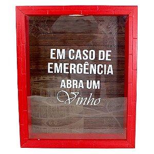 Quadro Coleção Emergência Tome Vinho