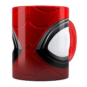 Caneca Spider Man 3D Print Vermelha
